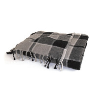 "Eclipse Home Collection Plaid Throw 64"" L  x 50"" W"