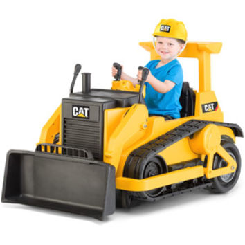 Walmart: Kid Trax CAT Bulldozer 12-Volt Battery-Powered Ride-On