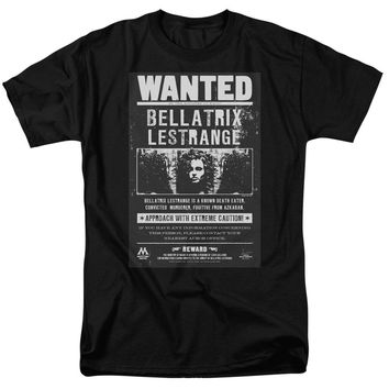 Harry Potter - Wanted Bellatrix Short Sleeve Adult 18/1 Shirt Officially Licensed T-Shirt