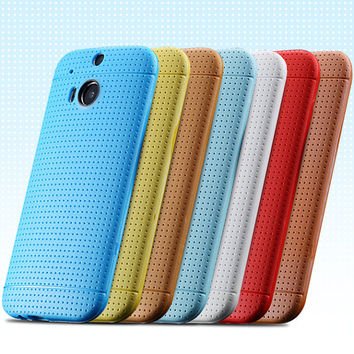 HTC M8 Slim cover perfectly fit colorful HQ
