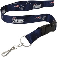 New England Patriots Brake Away Lanyard
