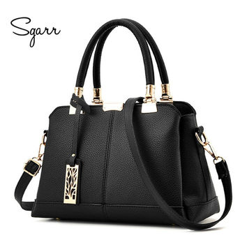 SGARR Brand Luxury Women Handbags Famours Designer PU Leather Crossbody Bag 2017 New Fashion Female Messenger Bags Shoulder Bags