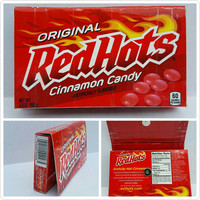 Red Hot Candy Box Wallet -Pouch