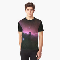 'Horsehead' Graphic T-Shirt by FlyNebula