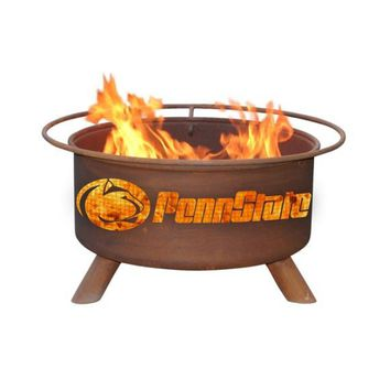 Penn State Steel Fire Pit by Patina Products