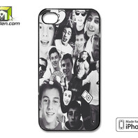 Shawn Mendes Black iPhone 4 Case Cover by Avallen
