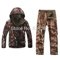 Outdoor Realtree Camouflage Hunting Clothes Breathable Hiking Realtree Camo Clothing Waterproof Hunting Suits