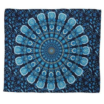 Cool Tapestry! Throwback Hippie Window Cover, Yoga Mat, Beach Throw, Wall Hanging  203X153Cm