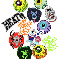 MISHKA STICKER PACK