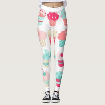Cupcakes Leggings