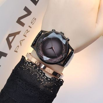 Top Brand Luxury Diamond Wrist Watch