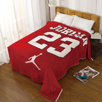 Air Jordan 23 Home Office Blanket Air Conditioning Bedsheet