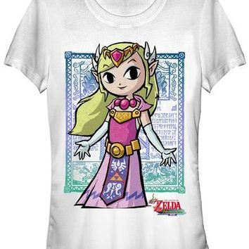 Women's: Legend of Zelda- Hylian Royalty T-shirts at AllPosters.com