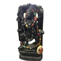 Mogul Goddess Kali Standing on Shiva Stone Statue Yoga Sculpture Free Gemstone Necklace - Walmart.com
