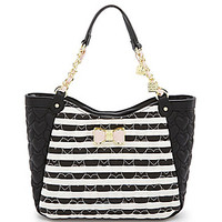 Betsey Johnson Be My Bow Satchel