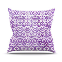 "Pom Graphic Design ""Tribal Mosaic"" Throw Pillow"