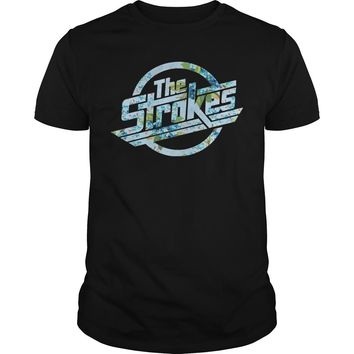 The strokes floral shirt Premium Fitted Guys Tee