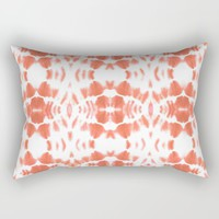 BOHEMIAN TANGERINE Rectangular Pillow by Nika