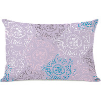 """Frozen Burst"" Indoor Throw Pillow by Jeanetta Gonzales, 14""x20"""