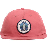 State 6-Panel Strapback Polo Hat Clay