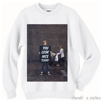 PREORDER Ed Sheeran Crew Neck Sweater And Long SleeveHave A Nice Day