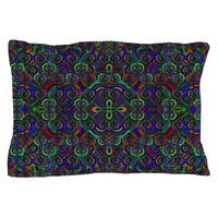 SWEET PSYCHEDELIC HEARTS PILLOW CASE