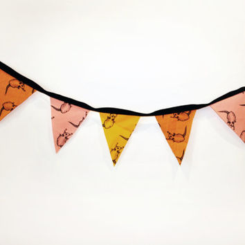 SALE Sunset Rat Print Bunting