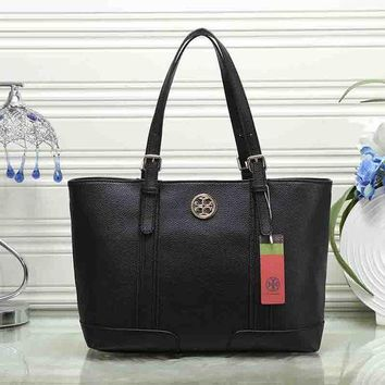 ONETOW Tory Burch Women Fashion Leather Satchel Shoulder Bag Handbag