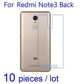 Clear Backpacks popular 10pcs/pack HD Clear/Matte/Nano anti-Explosion Screen Protector Protective Film for Xiaomi Redmi Note 3 Pro 4X/Mi Mix Back Guard AT_62_4