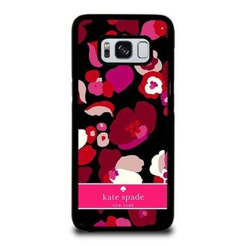 KATE SPADE NEW YORK FLORAL Samsung Galaxy S3 S4 S5 S6 S7 Edge S8 Plus, Note 3 4 5 8 Case Cover