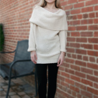 The Cozy Cowl Neck Sweater