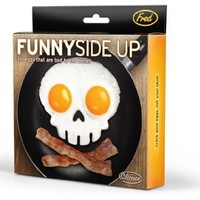 Fred & Friends FUNNY SIDE UP, Skull Egg Mold
