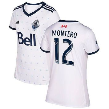 Vancouver Whitecaps FC adidas White 2017 Men Soccer Jersey Personalized
