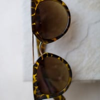 Flat Top Frame Sunglasses