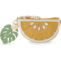 SEE BY CHLOE Lemon leather coin purse