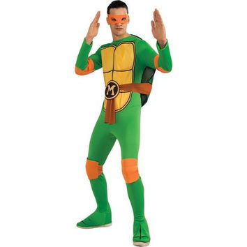 Men's Costume: Teenage Ninja Mutant Turtles Michelangelo