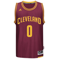 Men's Cleveland Cavaliers Kevin Love adidas Burgundy Player Swingman Road Jersey