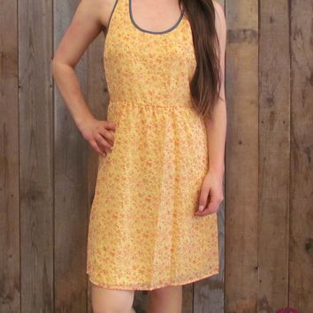 Southern Peach Summer Dress