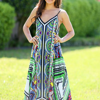 Piece of Love Scarf Maxi Dress