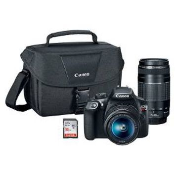 Canon T6 Lens Kit Plus Bonus SD card