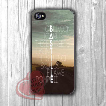 Songs Title Bastille logo - dit4 for iPhone 4/4S/5/5S/5C/6/ 6+,samsung S3/S4/S5,samsung note 3/4