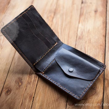 Coin pocket wallets mens leather wallets slim wallets men leather wallets minimal wallet travel wallet thin leather wallet coin purse wallet