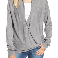 BP. Wrap Front Pullover | Nordstrom
