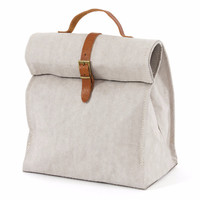 Uashmama Grey Lunch Bag