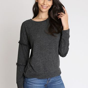 Millicent Drop Shoulder Sweatshirt | Ruche