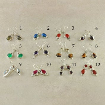 Sample Table Sale - Sterling Silver Earrings - Lot 12A