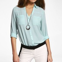THE PORTOFINO SHIRT at Express