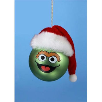 Christmas Ornament - Oscar The Grouch Officially Licensed