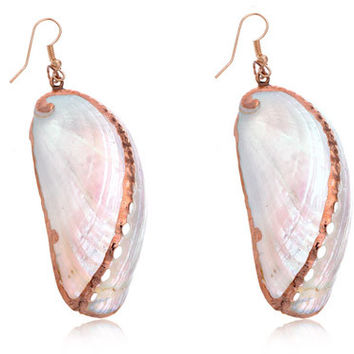 Seashell Dangle Earrings