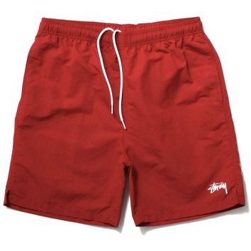 Stock Water Shorts Red